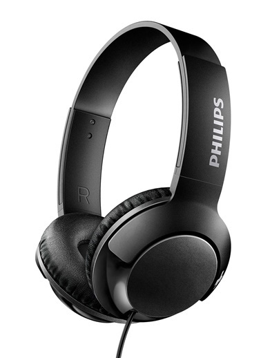 Philips SHL3070WT/00 Bass+ Kulaküstü Kulaklık Siyah